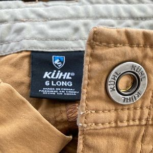 Kuhl Spire Roll-Up Pant size 6 LONG TALL